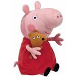 Ty Pelúcia Peppa Pig Vestido Rosa Grande - Dtc