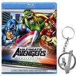 Ultimate Avengers Collection - Blu-Ray (Importado) + Chaveiro em Metal Niquelado - Avengers
