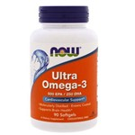 Ultra Omega 3 90 Cápsulas 500epa / 250dha - Now Foods