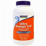 Ultra Omega 3-d 1000 Ui D-3 (180 Softgels) Now Foods