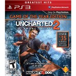 Uncharted 2: Among Thieves Goty Greatest Hits - Ps3