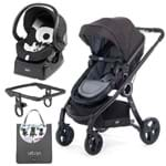 Urban Travel System: Carrinho Urban Plus + Color Pack Anthracite + Adaptador + Poltrona Auto Fix Fast Black Night - Chicco
