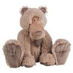 Urso Pelúcia Marrom Sentado 38cm - Regina