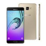 Usado: Galaxy A7 2016 4g A710 Dual 16gb Dourado