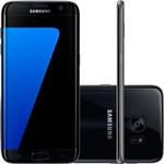 Usado: Galaxy S7 Edge Samsung G935f 4g 32gb Preto - Bom