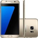 Usado:galaxy S7 Edge Samsung G935f 32gb Dourado - Bom
