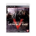 Usado: Jogo Armored Core: Verdict Day - Ps3