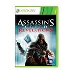 Usado: Jogo Assassin's Creed Revelations - Xbox 360