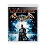 Usado: Jogo Batman: Arkham Asylum - Ps3