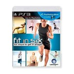 Usado: Jogo Fit In Six: Six Ways To Get In Shape - Ps3