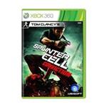 Usado: Jogo Tom Clancy's Splinter Cell: Conviction - Xbox 360