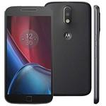 Usado: Moto G 4gen Plus Motorola 32gb Preto - Bom