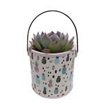Vaso Cerâmica Pineapple