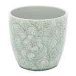 Vaso de Cerâmica Cinza Maluwa Urban