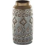 Vaso de Cerâmica Indigo Exotic 5599 Mart
