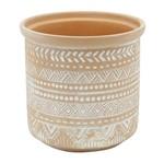 Vaso de Cerâmica Terracota Babilon Urban