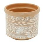 Vaso de Cerâmica Terracota Edge Grande Urban