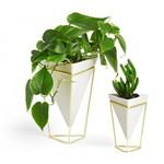 Vaso de Mesa Trigg (2 Un) Branco - Umbra