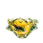 Vaso de Murano Calabria Ambar 8 Cm