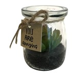 Vaso de Vidro Green Betty Urban