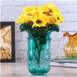 Vaso de Vidro Italy Tiffany Lyor Azul