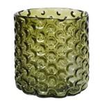 Vaso de Vidro Verde Confete 18cm Concepts Life