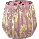 Vaso em Vidro Kairo III 6237 Rosa