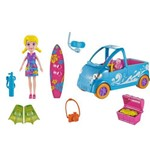 Veiculo com Boneca Polly Pocket - Van de Surf