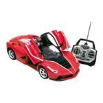 Veículo de Controle Remoto - Garagem S/a - Illusion - Vermelho - Candide