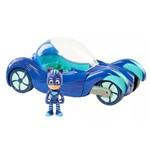 Veículo do Herói com Personagem com Sons e Luzes - Pj Masks - Felinomóvel - Dtc