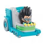 Veículo do Herói com Personagem - PJ Masks - Laboratório do Romeo - Dtc