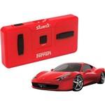 Veículo DTC Ferrari Silverlit Série 1:50 - 458 Itália Vermelho