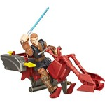 Veículo Hero Mashers Star Wars EP VII Speeder Bike W Anakin Skywalker - Hasbro
