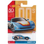 Veículo Hot Wheels - 1:64 - Edição 50 Anos - Retrô - Corvette - Mattel