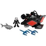 Veículo Imaginext Liga da Justiça Manta Negra - Mattel
