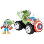 Veículo Marvel com Figura - Quadriciclo Florestal