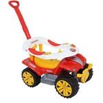 Veículo para Bebê Dudu Car com Empurrador Biemme Ref 716