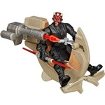 Veículo Speeder Hero Mashers Star Wars EPVII - Speeder Bike With Darth Maul