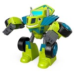Veículo Transformável - Blaze Robot Riders - Verde - Fisher-price