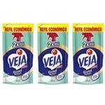Veja X 14 Limpa Banheiro Refil 400ml (kit C/03)