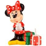 Vela 3D Regina Festas Red Minnie 1 Unidade