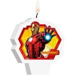 Vela Plana Regina Festas Iron Man Assemble 1 Unidade