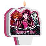 Vela Plana Regina Festas Monster High Kids com 1 Unidade