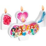 Vela Plana Regina Festas Princess Debut 4 Unidades