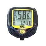 Velocímetro Sem Fio a Prova D'agua Wireless Bike Relogio Km
