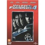 Velozes e Furiosos 4 - DVD / Filme Ação