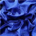Veludo Shine(Venda por Quilo) Azul Royal