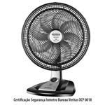 Ventilador de Mesa Mondial 40Cm 8 Pás Turbo Tech Preto