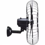 Ventilador de Parede 60cm Aço Bivolt Ventisol 200w Cor Preto