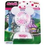 Ventilador Infantil Mini a Pilha 13,5x9,5cm Minnie na Cartela